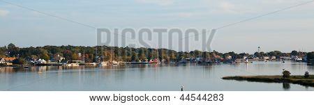 Mystic Seaport, Connecticut, Panorama