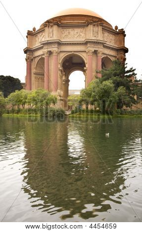 Palace Of Fine Arts Museum San Francisco California