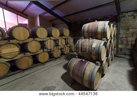 South Africa, Stellenbosch, Barrel Cellar.