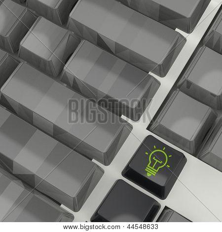 Light Bulb Shortcut 3D