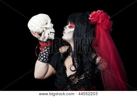 Kissing Sugar Skull