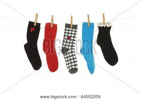 Ungerade Socken