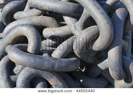 Ship's Anchor chain