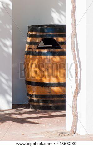Barrel Of Wine, Stellenbosch, Western Cape, South Africa.