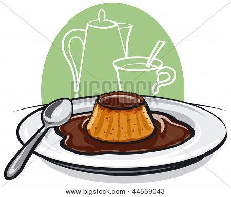 Caramel Pudding Flan