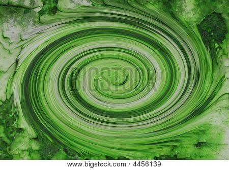 schnelle grüne Wirbel