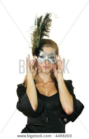 Girl In A Mask