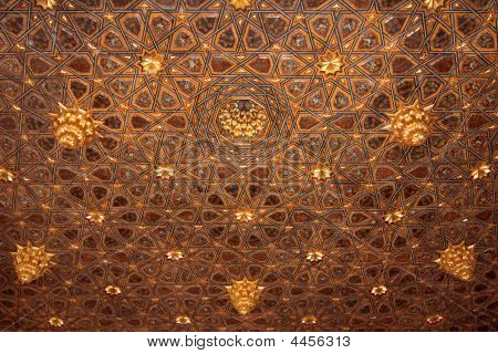 Ceiling Of A Andalusian Palace