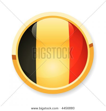 Belgien Flag Button
