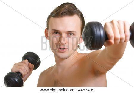 Men With Dumbbells