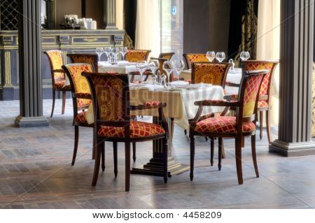 Luxurious Restaurant Interior