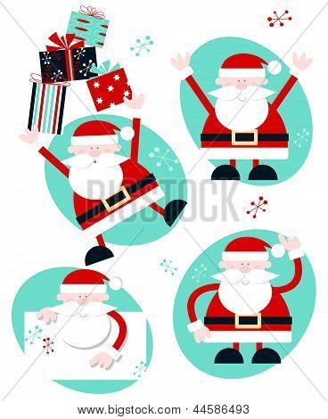Fun Santa Characters