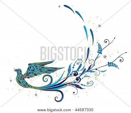 Der blaue Vogel