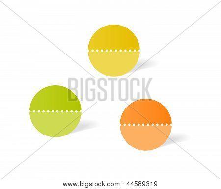 circle label