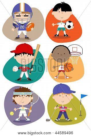Sports Set - Male