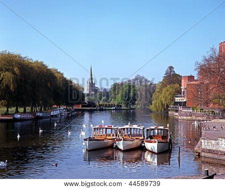 River Avon, Stratford-upon-Avon, England.