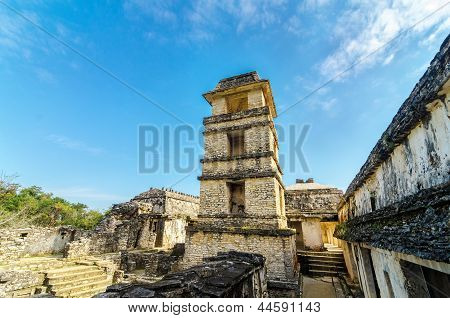 Palenque Palace Tower