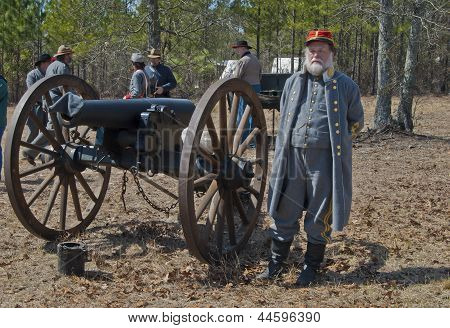 Civil War Cannon Battery