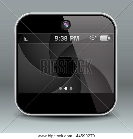 App design mobile phone camera icon