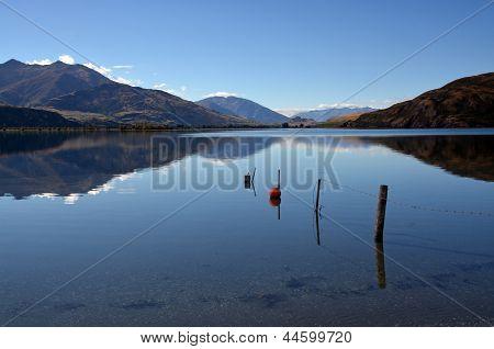 Lake Wanaka Autumn Reflections, Otago New Zealand
