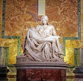 Pieta By Michelangelo