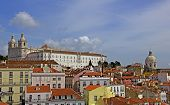 lisbon, panoramic view