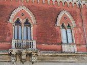 Постер, плакат: Древний каменный балкон в Сицилии