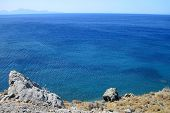 Greece Sea In The Hot Summer