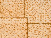 stock photo of matzah  - matzah background  - JPG