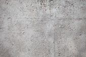 stock photo of wall-stone  - A high resolution gray concrete wall background - JPG