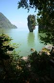 stock photo of james bond island  - james bond island in thailand ko tapu - JPG