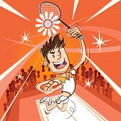 Male Badminton Player