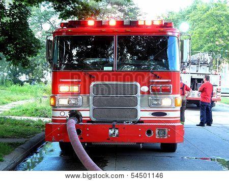 Red Firetruck