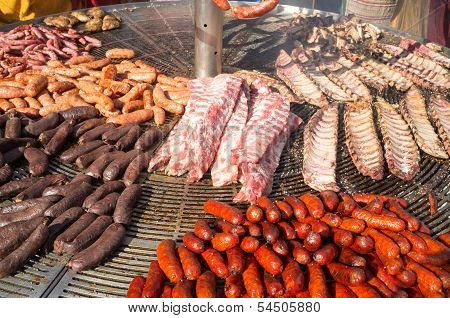 Hearty Spanish Barbecue