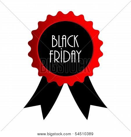 Vector Black Friday Badge