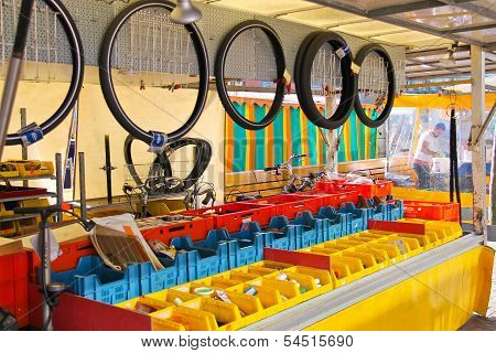 Bicycle Repair Shop  In Dordrecht, Netherlands