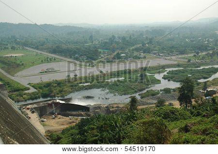 Back Dam Landscape with Floodgate
