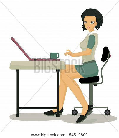 Working women.