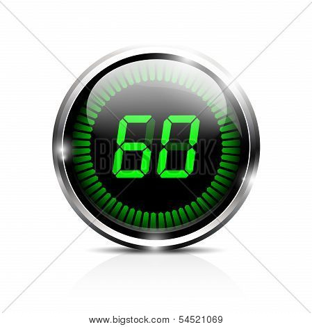 Electronic timer 60 seconds