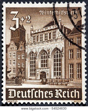 Danzig 1940 Stamp