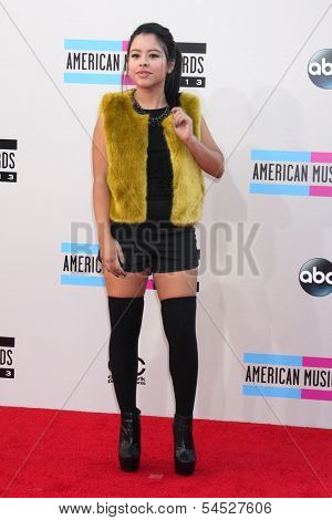 LOS ANGELES - NOV 24:  Cierra Ramirez at the 2013 American Music Awards Arrivals at Nokia Theater on November 24, 2013 in Los Angeles, CA