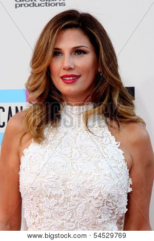 LOS ANGELES - NOV 24:  Daisy Fuentes at the 2013 American Music Awards Arrivals at Nokia Theater on November 24, 2013 in Los Angeles, CA