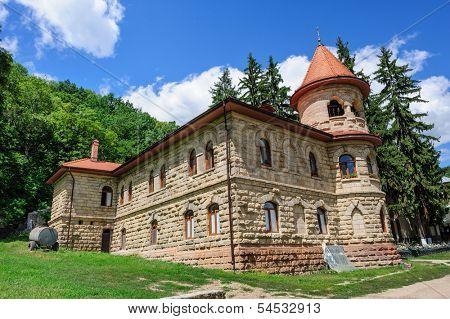 Women's orthodox monastery near Rudi village at the north of Republic of Moldova