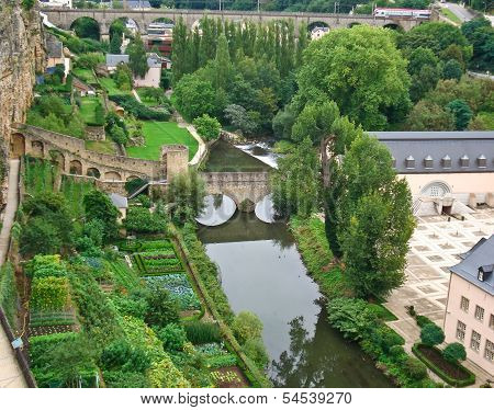 The Kitchen-gardens In Luxembourg