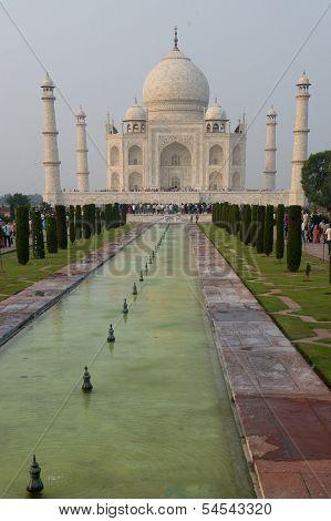 Taj Mahal, Mausoleum In Agra