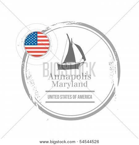 stamp Annapolis