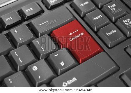 Collaborate Enter Key Keyboard