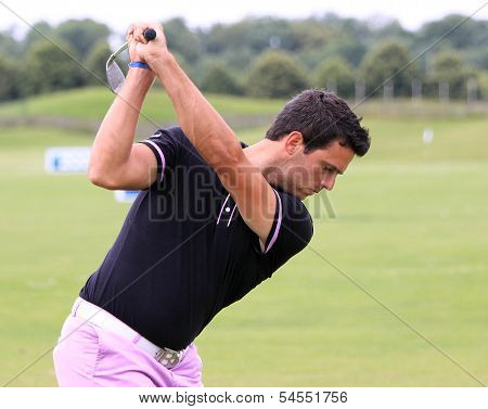 Nicolas Tacher at the Golf French Open 2013