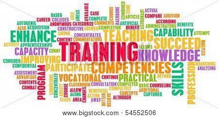 Training or Upgrading Business Job Skills as Art