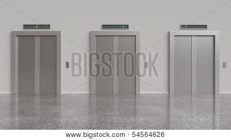 Three Elevator